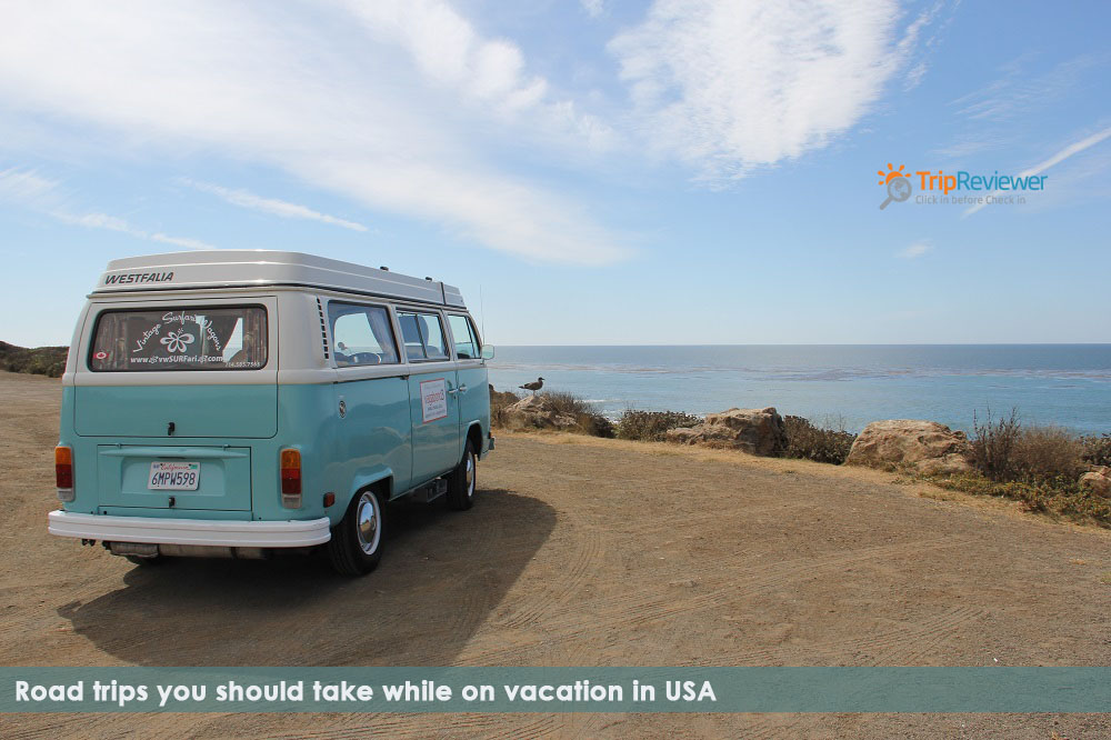 Road trips you should take while on vacation in USA