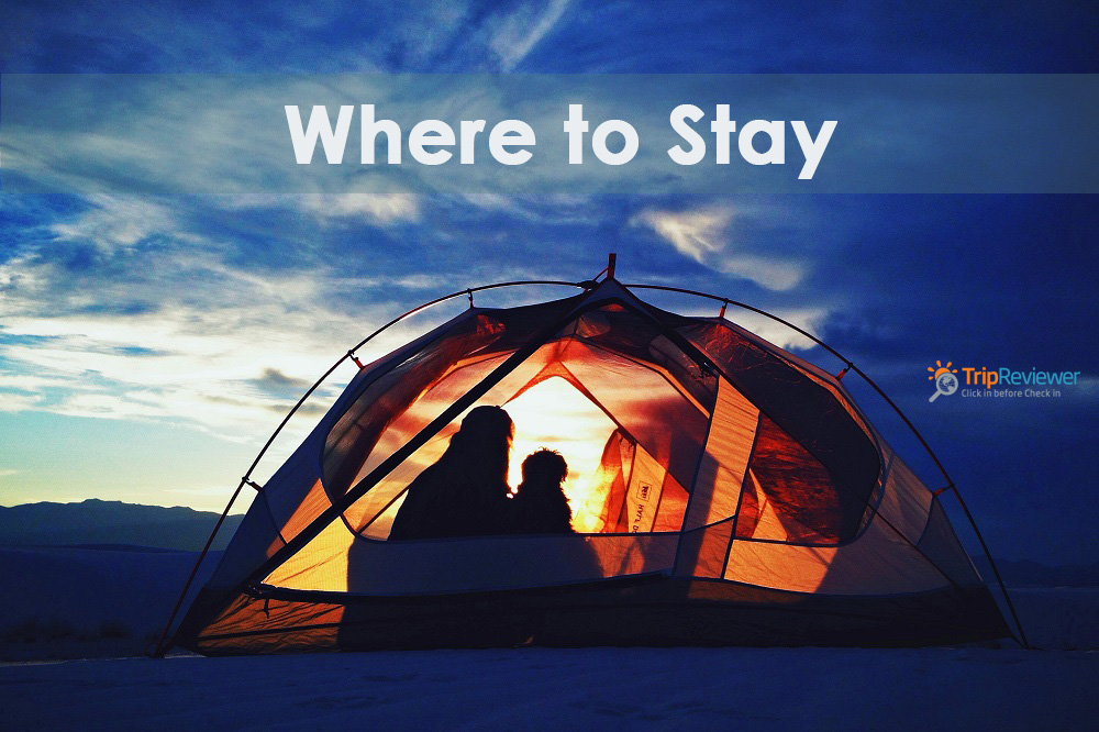 Trip reviewer - where to stay