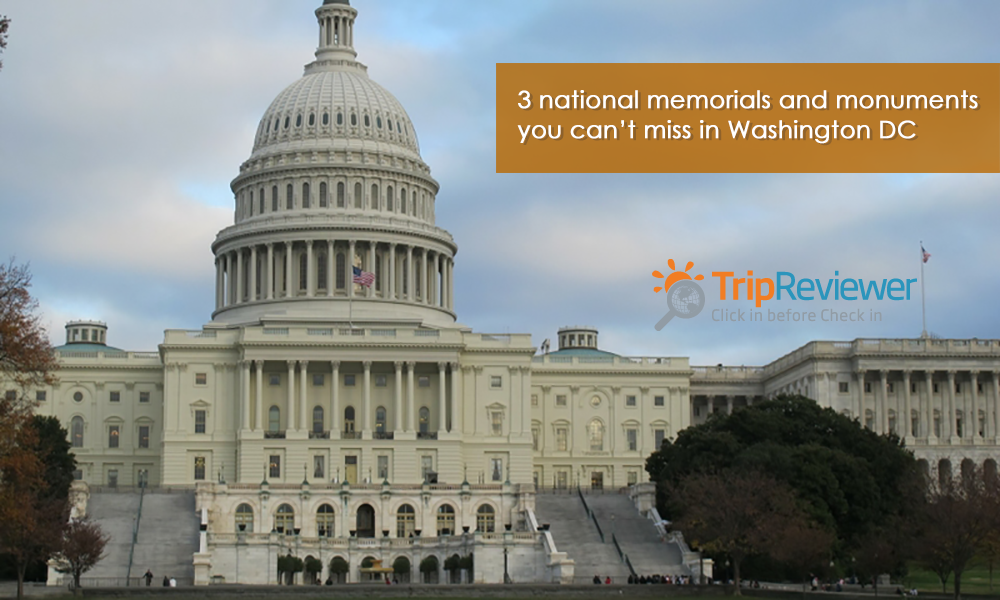 3 national memorials and monuments you can't miss in Washington DC