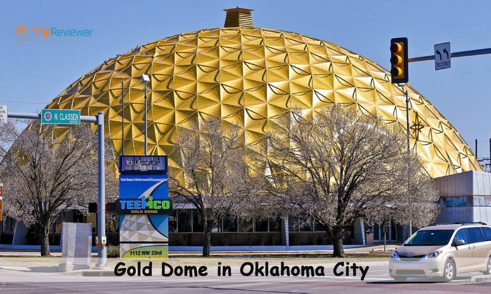 Gold Dome in Oklahoma City