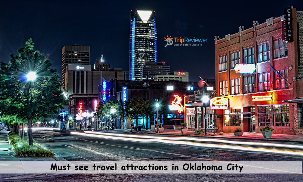 travel attractions in Oklahoma City