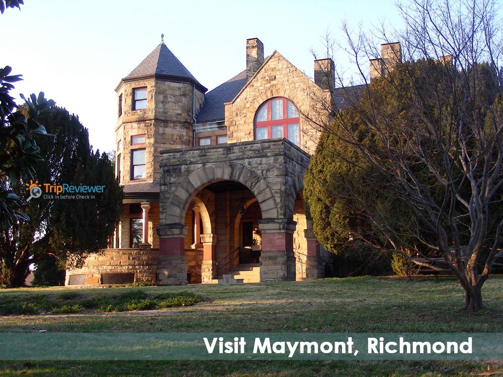 Visit Maymont, Richmond