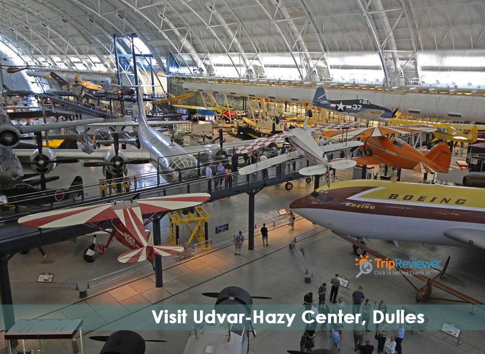 Visit Udvar-Hazy Center, Dulles