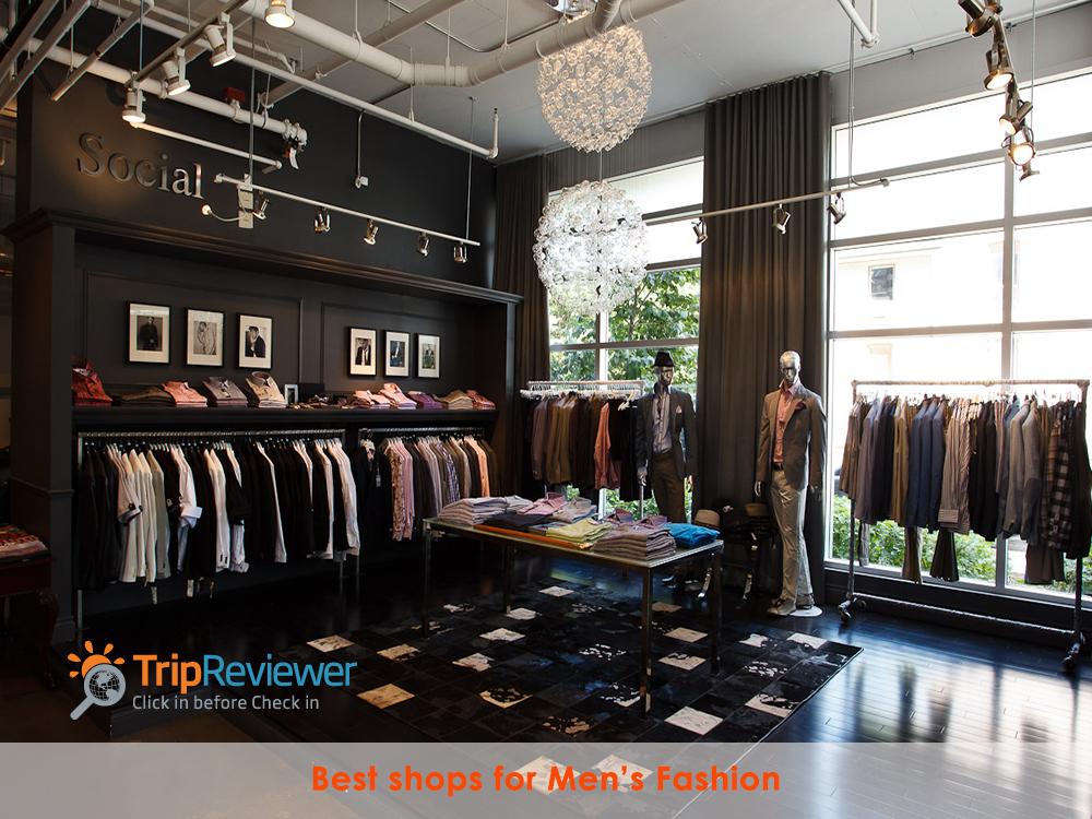 Find Best men's shops at Tripreviewer